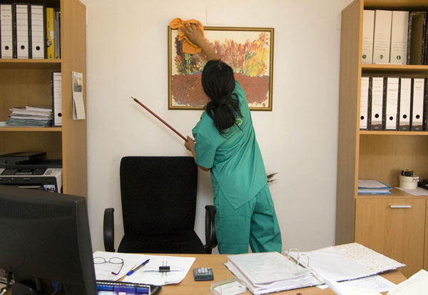 Cleaning Staff - RoMaCo Building Services