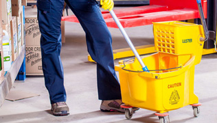 Commercial Shop Cleaning - RoMaCo Building Services